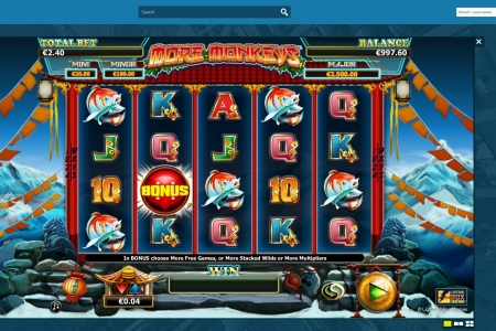 Thrills Casino screenshot